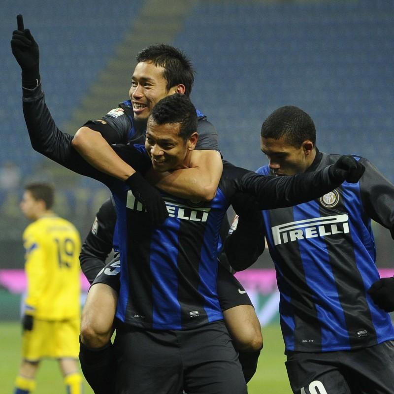 Guarín's Match-Worn Juventus-Inter Shirt, Serie A 2012/13