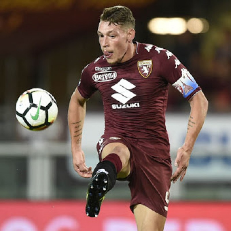Belotti's Torino Signed Shirt, 2017/18