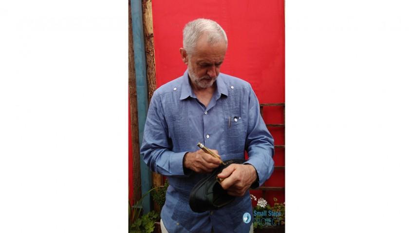 Jeremy Corbyn Signed Shoes