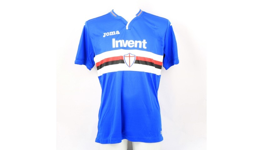 Murru's Sampdoria Match-Issue Signed Shirt, 2018/19