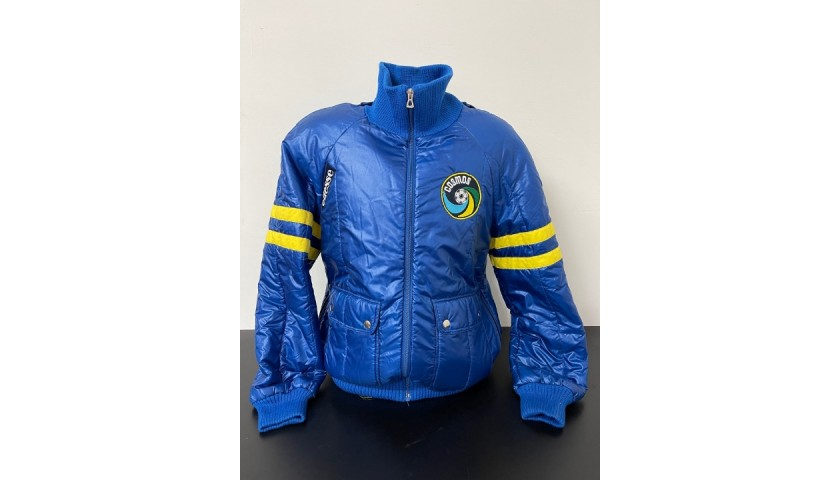 Official New York Cosmos Puffer Jacket, 1980s