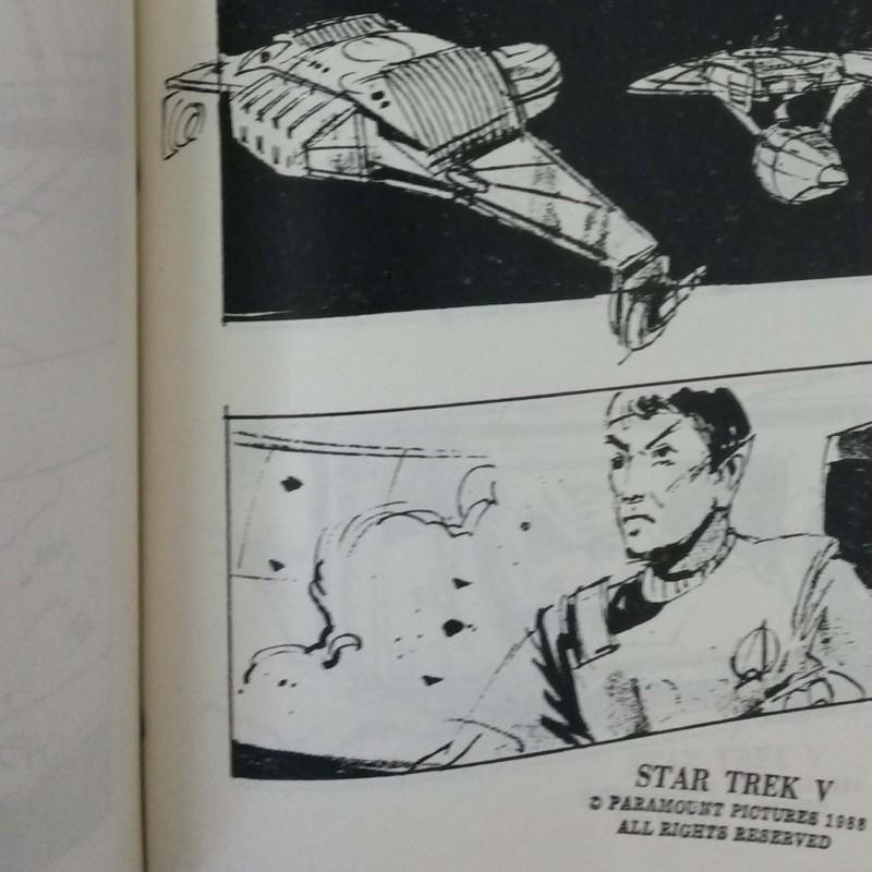 Star Trek V: The Final Frontier Storyboard Bible