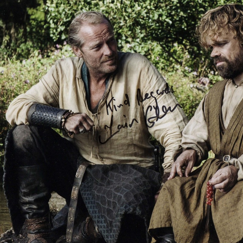 Picture signed by Iain Glen (Game of Thrones)