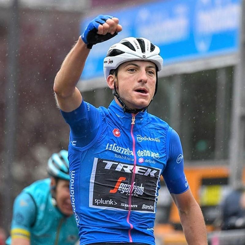 Blue Jersey, Giro d'Italia 2019 - Signed by Giulio Ciccone