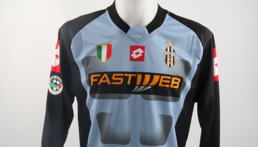 best website 6a1d9 b3204 Buffon Juventus shirt, issued/worn Serie A 2002/2003 - CharityStars