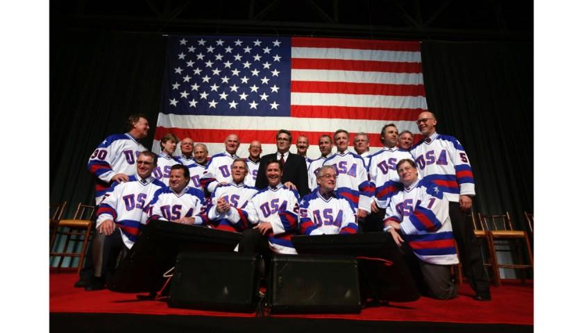 1980 USA Olympic Hockey Team Signed Jersey