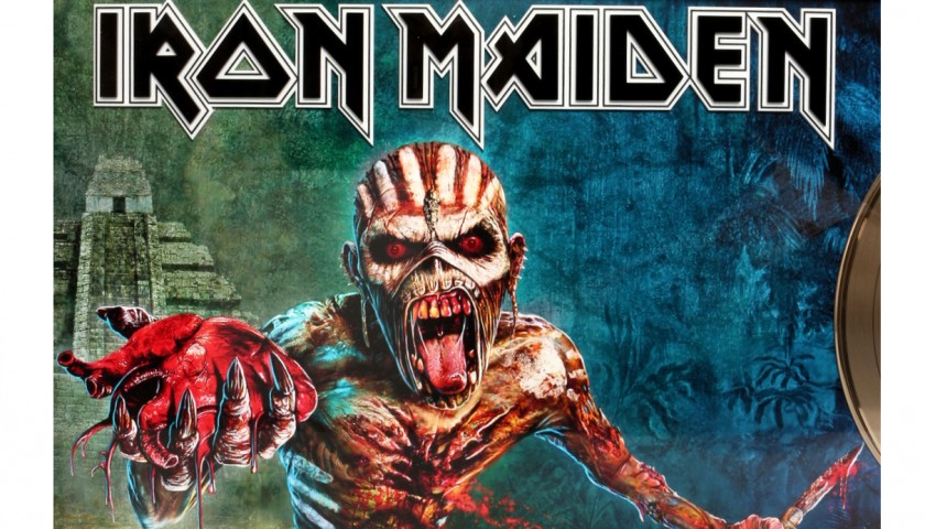 Iron Maiden Australian TBOS Gold Disc