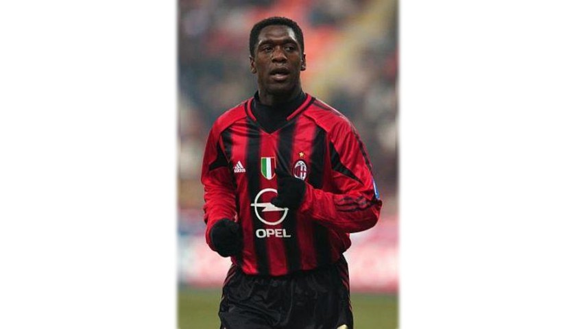 Seedorf's AC Milan Match Shirt, Serie A 2004/05