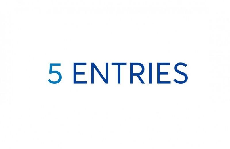 Five Entries