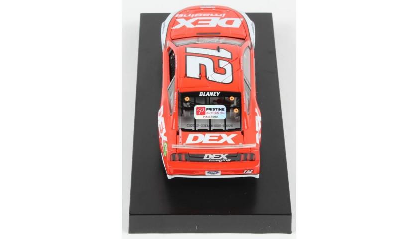 Ryan Blaney Signed 2020 NASCAR #12 Car