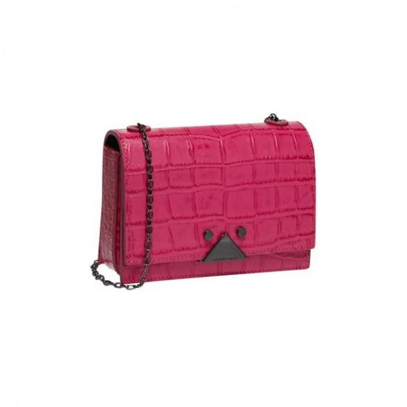 Leather Shoulder Bag by Emporio Armani