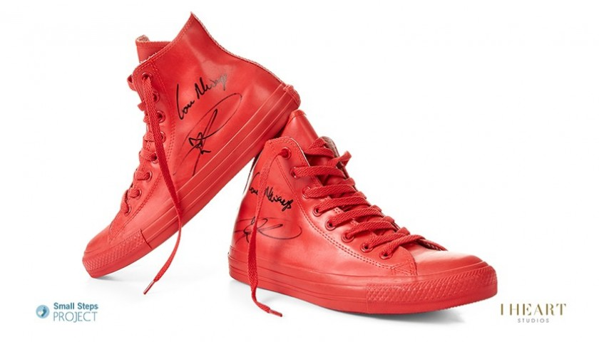 Aston Merrygold Signed Shoes