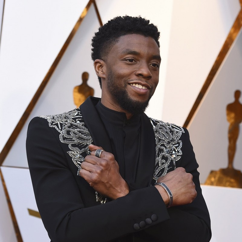 "Chadwick Boseman ""Black Panther"" Funko Pop Figure with Digital Signature"