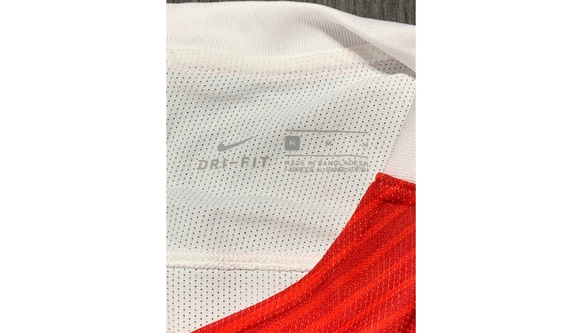 Falcao's Monaco Match Shirt, UCL 2016/17