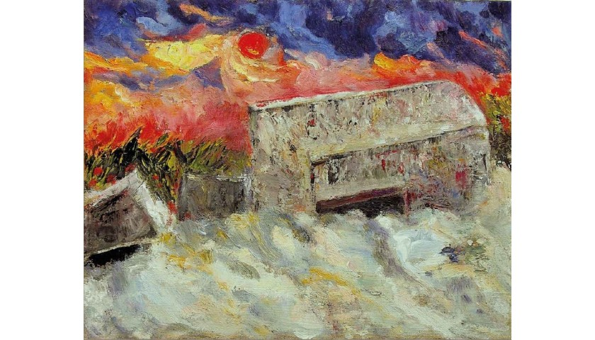 """""""Bunker sulle dune (le bare della guerra)"""" by Massimo Marchesotti"""