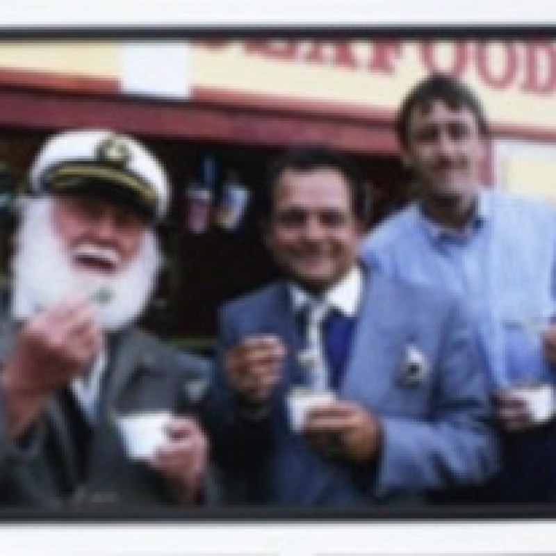 Only Fools and Horses Signed and Framed Montage