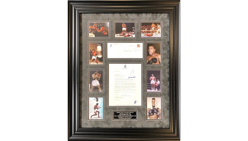 Letter Signed by Boxing Legend Muhammad Ali