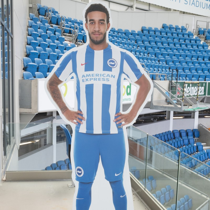 Connor Goldson Signed Cardboard Cut-Out