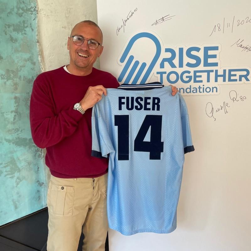 Fuser's Lazio Worn Shirt, 1995/96
