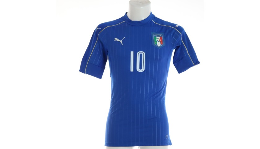 Verratti's Italy Match Shirt, 2016