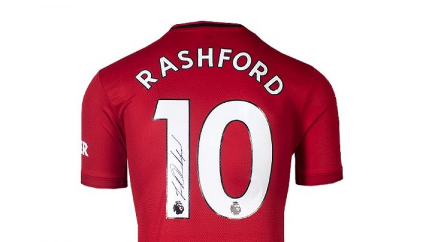 Rashford's Manchester United Signed Shirt, 2019-20
