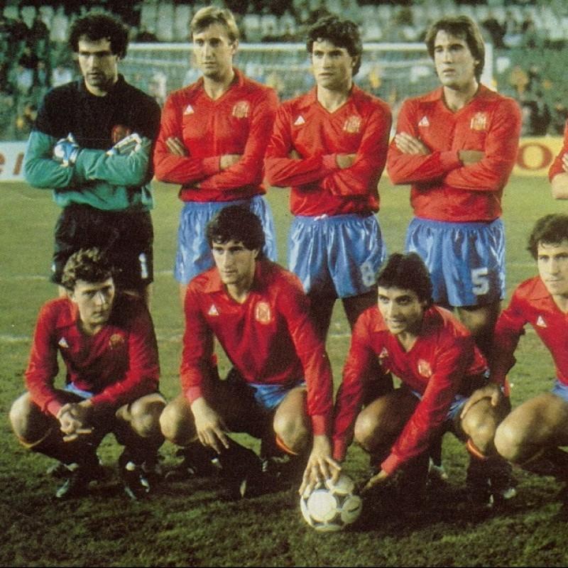 Carrasco's Spain Match Shirt, 1985