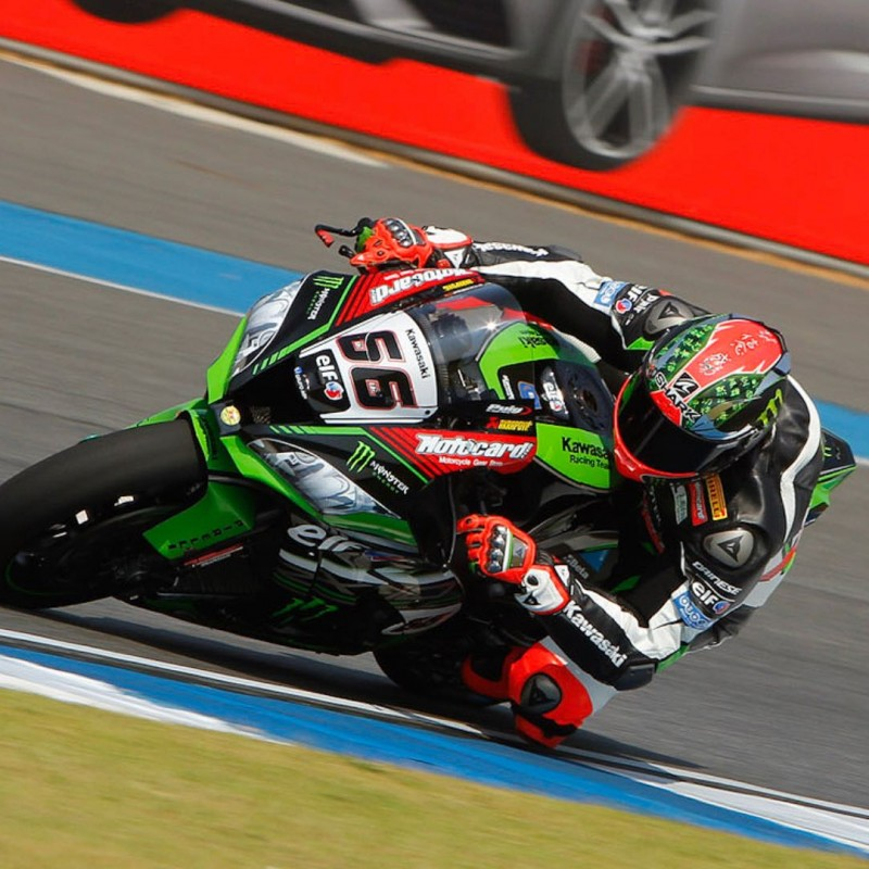 Official Kawasaki Poster Signed by Tom Sykes