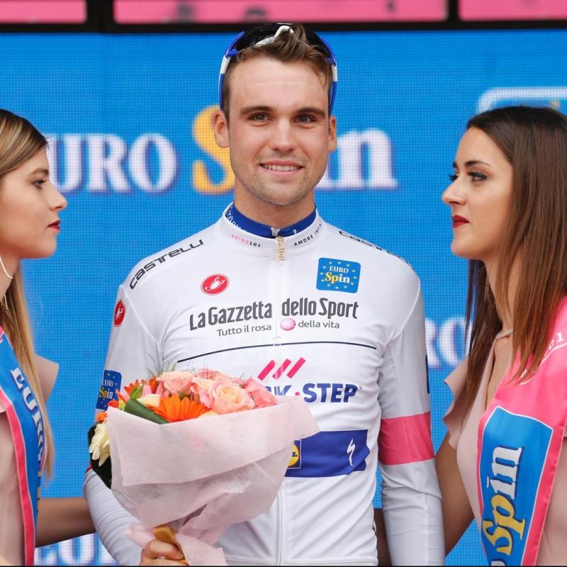 Schachmann's White Signed Shirt, Giro d'Italia 2018