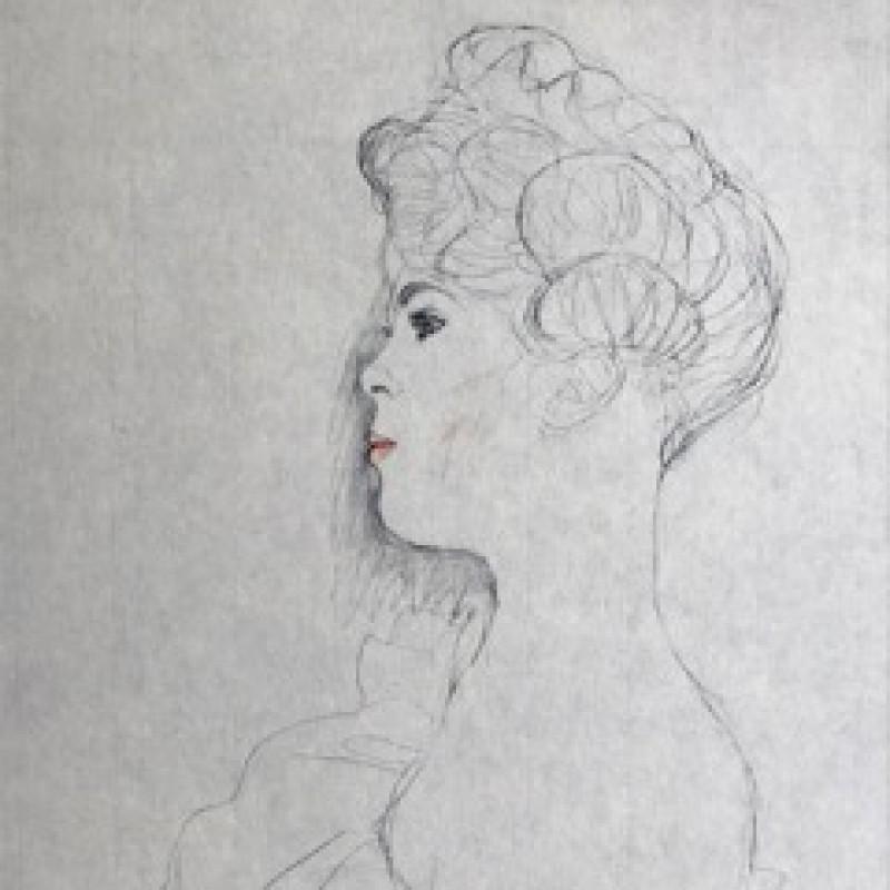 """""""Antoinette"""" by Gustav Klimt"""