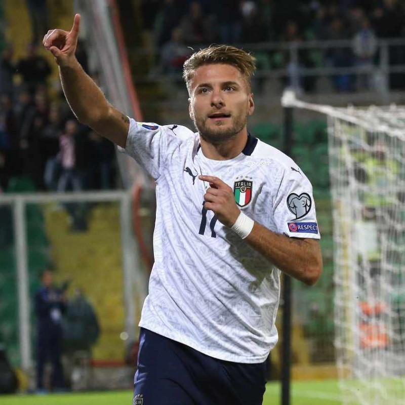 Immobile's Match Shirt, Italy-Armenia 2019