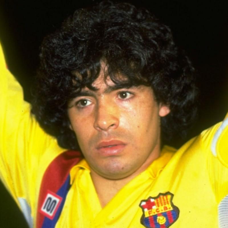 Maradona's Official Barcelona Shirt, 1983/84