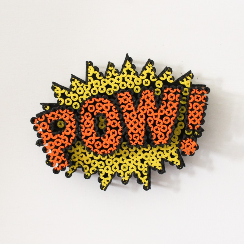 """Mini Pow!"" by Alessandro Padovan"