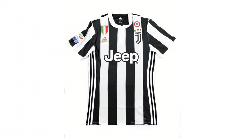 Douglas Costa's Match-Issued/Worn 2017/18 Juventus Shirt – Signed