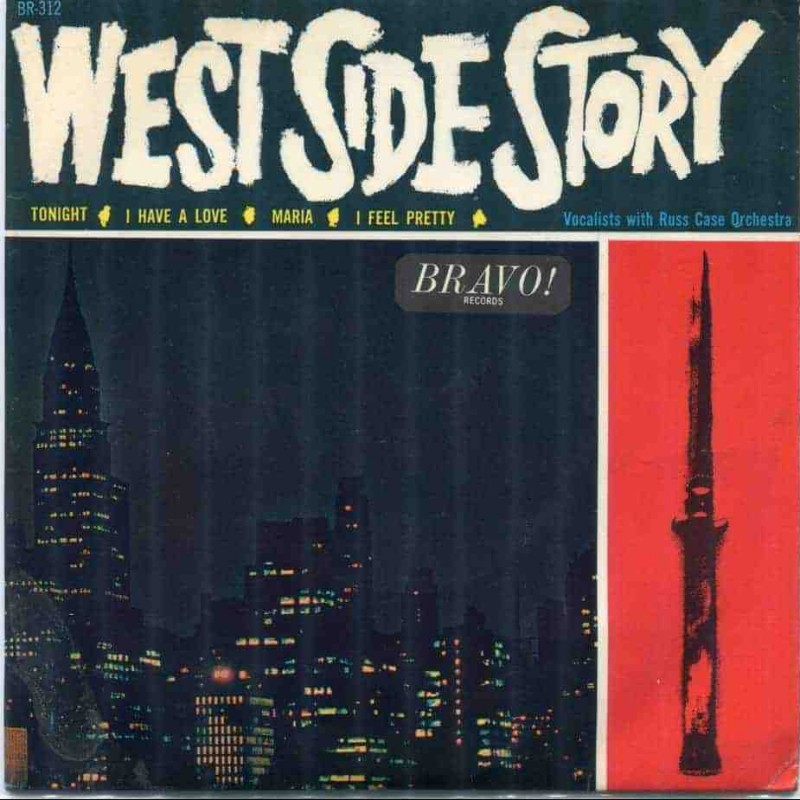 """""""West Side Story"""" Vinyl Album - Russ Case And His Orchestra, 1964"""