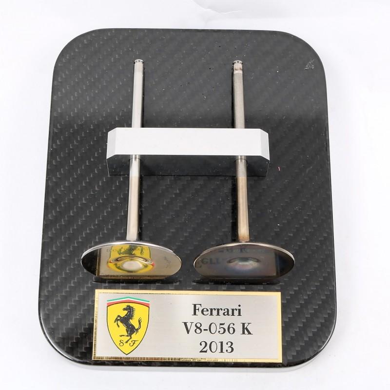Ferrari 2013 Engine Valves - Signed by Mattia Binotto