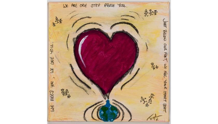 """Beneath My Feet"" by Toyah Willcox"