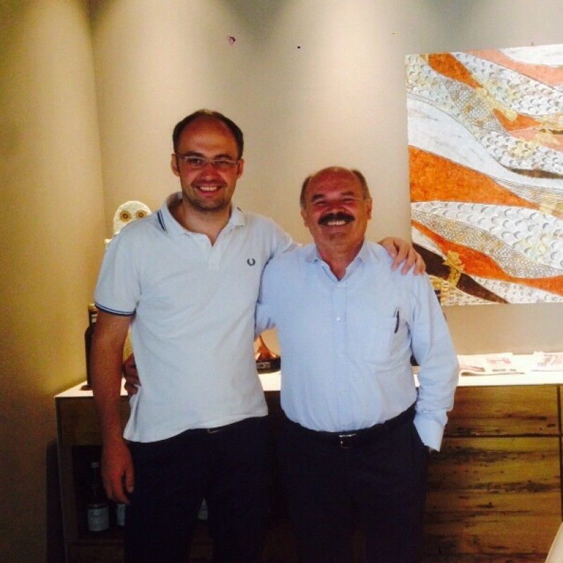 Business Lunch in Milan with CEO and Founder of Eataly NY Oscar Farinetti