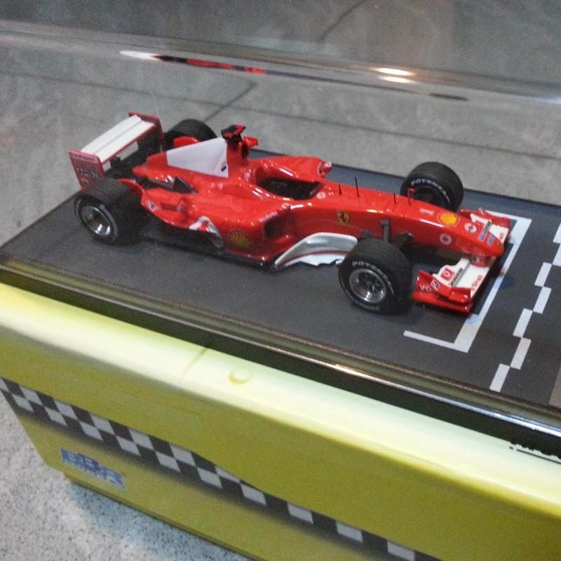 1:43 BBR - Ferrari F2004, Monza, Italian GP M.Schumacher, limited series 135/200 with certificate