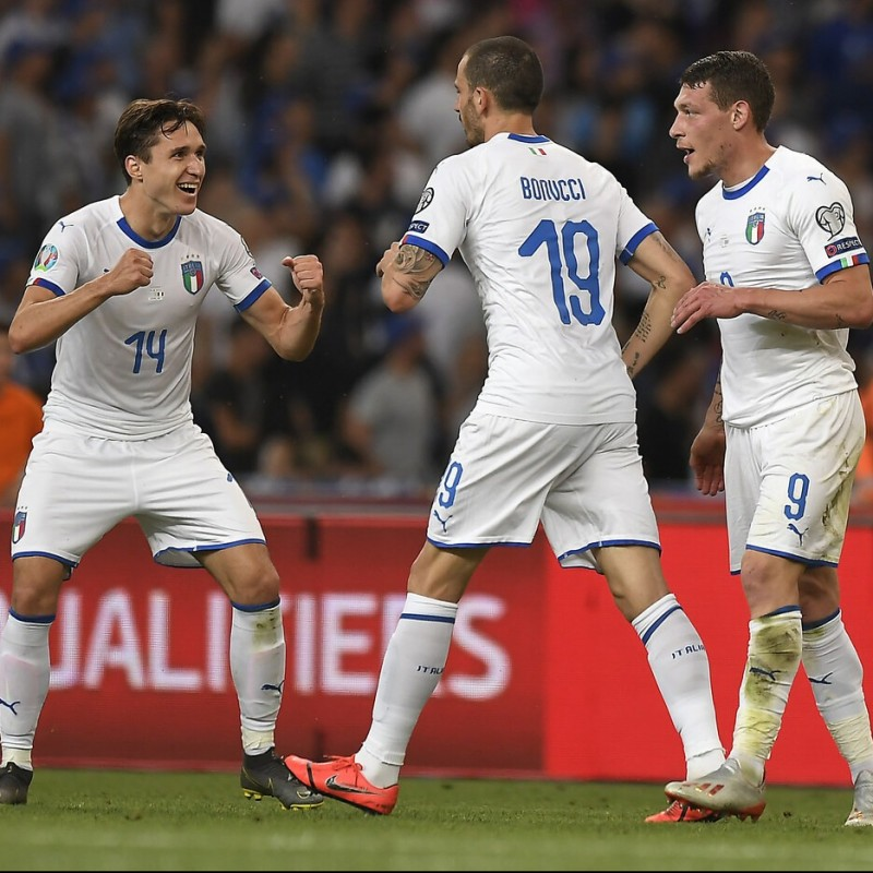 Bonucci's Match Shirt, Greece-Italy 2019