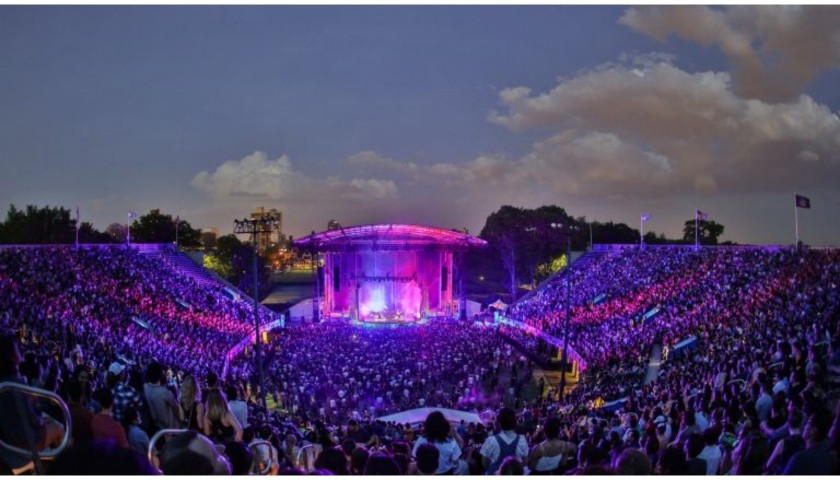 Outdoor Concert at the Historic Forest Hills Stadium for two
