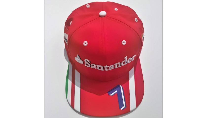 Ferrari Race Team Cap Signed by Kimi Raikkonen