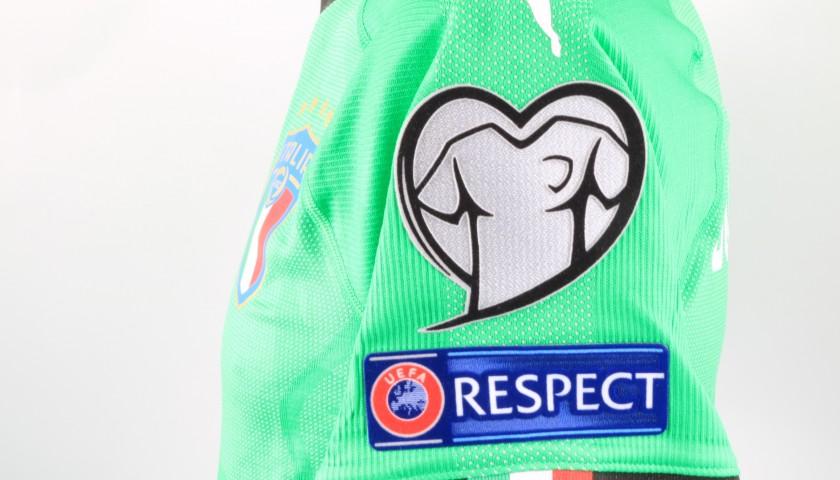 Donnarumma's Match Shirt, Italy-Liechtenstein 2019
