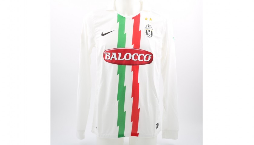 Marchisio's Match-Issued/Worn Cesena-Juventus Shirt