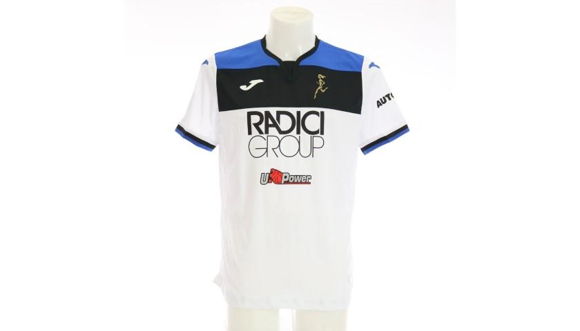 Zapata's Match-Issued Shirt, Hellas Verona-Atalanta 2020