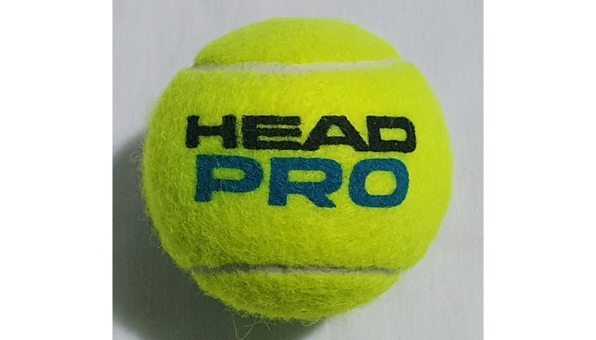 Head Pro Tennis Ball Signed by Andy Murray