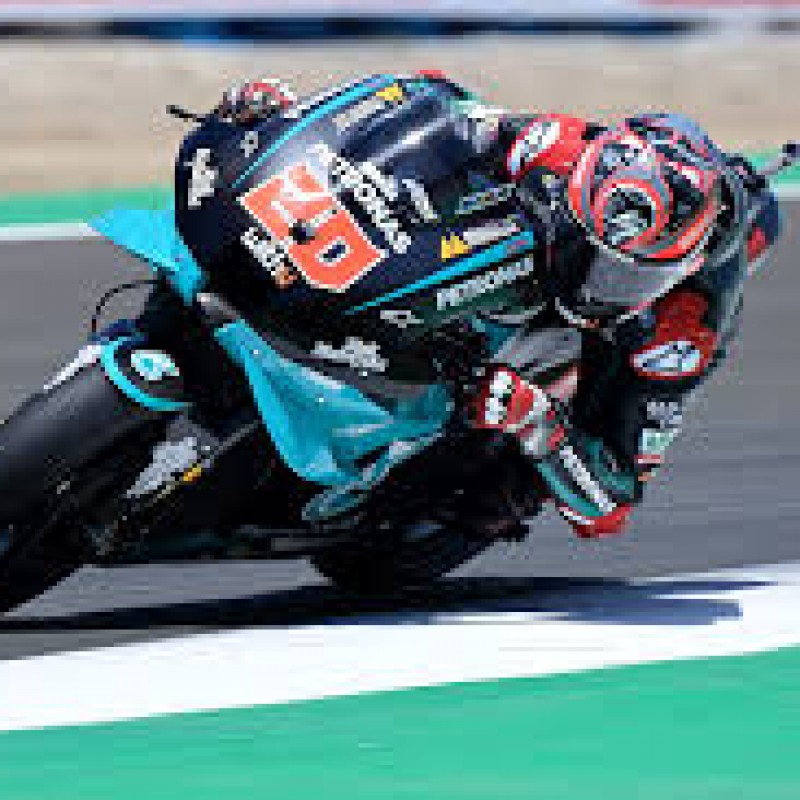 Quartararo's tear off that ended Miller's race in Misano