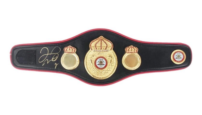 AMB Belt Signed by Floyd Mayweather