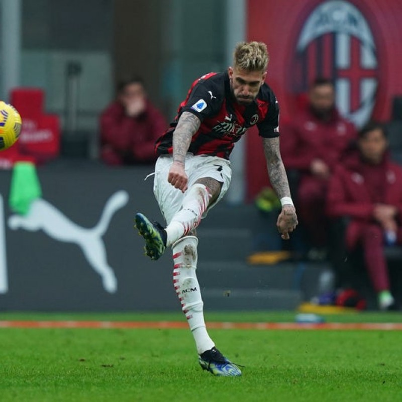 Castillejo's Worn and Signed Shirt, Milan-Inter 2021