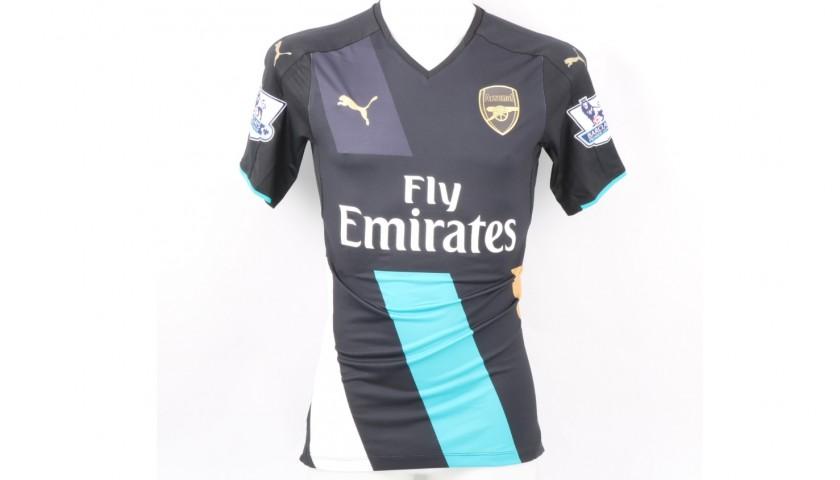 Sanchez's Arsenal Match Shirt, EPL 2015/16