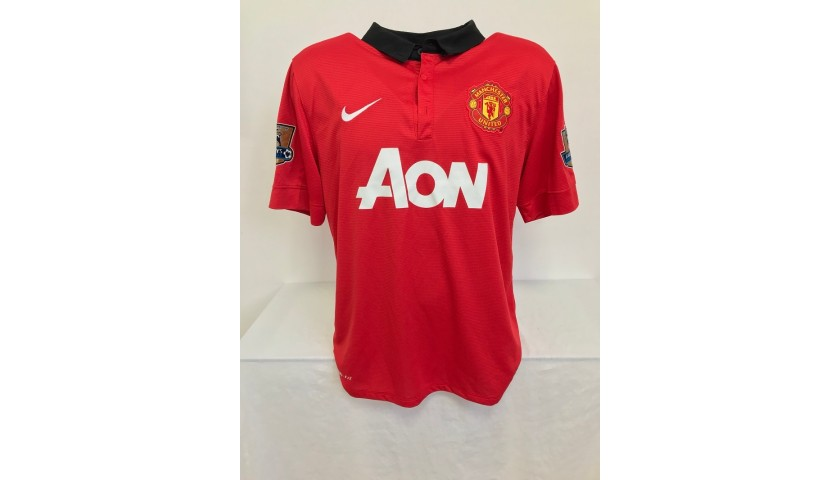 Van Persie's Official Manchester United Signed Shirt, 2013/14